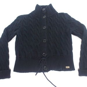 Ralph Lauren Chunky Cable Knit Turtleneck Sweater